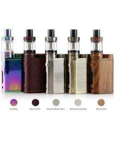 Eleaf iStick Pico Starter Kit with Melo 3 Mini - 2ml consists a iStick Pico battery Mod and 1 Melo3 Mini atomizer(EC 0.3ohm). With a single interchangeable 18650 battery and the maximum output up to 75W, switch between various firing modes. Top e-liquid filling and hidden adjustable airflow, making the iStick Pico looks tiny and exquisite and fashionable.