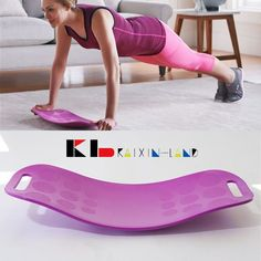Simply Fit Board - The Abs Legs Core Workout Balance Board with A Twist   Sporting Goods, Fitness, Running & Yoga, Fitness Equipment & Gear   eBay!