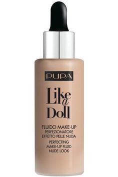 Pupa, Like a doll fondotinta, fluido makeup. Pupa Cosmetics, Perfume, Makati, Strobing, Estee Lauder, Moisturizer, Foundation, Make Up, Personal Care