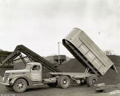 Material Transit Company Truck   Photograph   Wisconsin Historical Society
