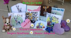 www.thelittlebluedog.com  books for kids, promoting compassion and responsible pet ownership.