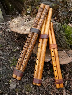Fujara and other Slovak flutes - wooden wind musical instruments Wooden Musical Instruments, Music Instruments, Banjo, Wooden Flute, Medieval Music, Native American Flute, Flautas, Easy Guitar, Sound Of Music