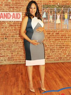 Star Tracks: Monday, April 20, 2015 | BABY BOOM | A bumpin' Tamera Mowry-Housley hosts a playdate with Band-Aid, Neosporin and KaBOOM! to raise awareness on both the benefits of play and the necessity of keeping First Aid supplies at hand in N.Y.C. on Thursday.
