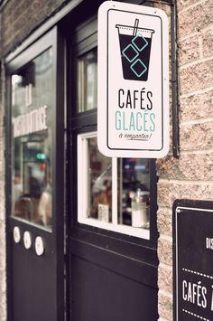 La distributrice | À la mode Montréal #montreal #coffee #food