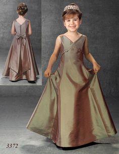 Flower Girl Dress 3372 by Little Maiden