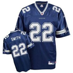 dbba6dc94 Men s online Reebok  22 Emmitt Smith Authentic Navy Blue Team Color Throwback  NFL Dallas Cowboys