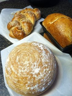 A few of my favorite breads...