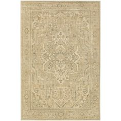 Anchor your living room or master suite ensemble with this stylish rug, featuring an elegant medallion motif.  Product: Rug...