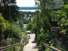 Pispala in Tampere Finland City Vibe, Khao Lak, City Landscape, Helsinki, Norway, Sweden, Summertime, Places To Go, Landscapes