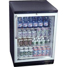 Summit Glass Door Built In Under Counter Beverage Merchandiser   Cu.