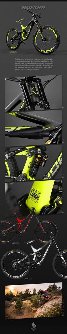 2015 Norco Aurum C bicycle graphics on Behance