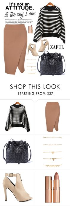 """""""Zaful 22"""" by merima-kopic ❤ liked on Polyvore featuring ALDO, Charlotte Tilbury and zaful"""