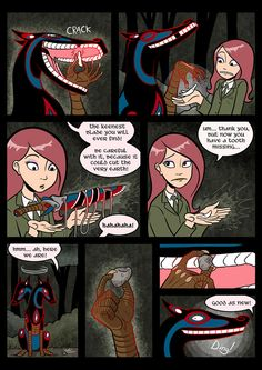Gunnerkrigg Court is a science-fantasy webcomic created by Tom Siddell. Cartoon Memes, Funny Memes, Funny Quotes, Jokes, Character Concept, Character Design, Creepy Images, Creepy Monster, Furry Comic