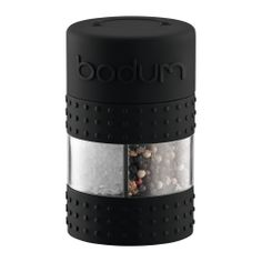 Salt and Pepper grinder from Bodum - Love this company. I have a travel coffee press from them and it's great!!