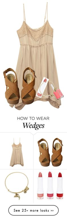"""""""ugly so no taglist:("""" by elizabethannee on Polyvore featuring moda, Wet Seal, Essie, Forever 21 y Alex and Ani"""