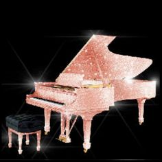 Swarovski grand piano, I love it!