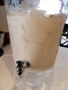 Sipped some horchata at Café Rio last night and vowed to figure out how to make it myself. Stay tuned!