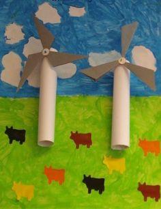 Windmolen knutselen