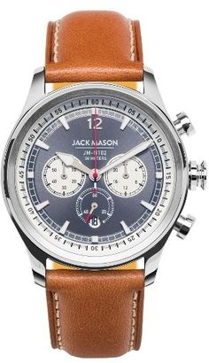 Nautically Inspired Chronograph dial. Important instrument on a racing boat or dinner at the Yacht Club.   (Affiliate)