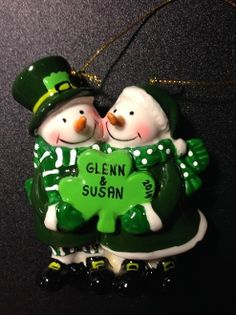 Irish Snow Couple