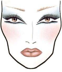 1700+ Makeup Face Charts - MAC Pro Bible Cosmetics Manual Training - CD/DVD