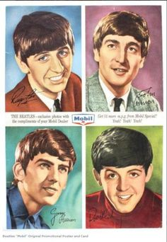 Beatles collectible card