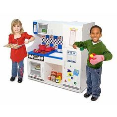 Melissa and Doug Classic Deluxe Kitchen *** This is an Amazon Affiliate link. Learn more by visiting the image link.