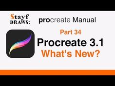 Procreate 3.1 - What's New? - YouTube
