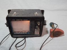 Lowrance X-15 Computer Sonar Paper Graphic Recorder #Lowrance