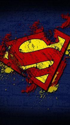 Logo Superman, Superhero Superman, Superhero Symbols, Superman Wallpaper, Superman Man Of Steel, Summer Wallpaper, Dc Comics Art, Pop Art, Android