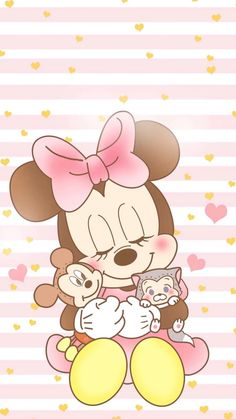 ♡ Be Positive ♡ Mickey Mouse Kunst, Minnie Mouse Drawing, Minnie Mouse Cartoons, Minnie Mouse Pictures, Mickey Mouse Wallpaper Iphone, Cartoon Wallpaper Iphone, Cute Disney Wallpaper, Cute Cartoon Wallpapers, Minnie Mouse Nursery