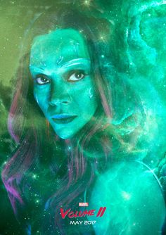 'Guardians of the Galaxy Vol.2' Gamora Poster Alejandro Hinojosa