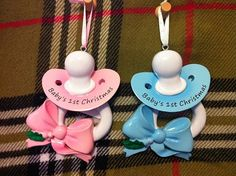 Personalized Babys First Christmas Ornament by PersonalizeStation, $11.99