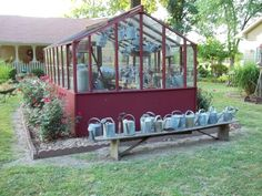 """Debbie McMurry says, """"Gardening is like therapy and very artistic to me as I love to fill every area of my yard with flowers or vintage garden items."""