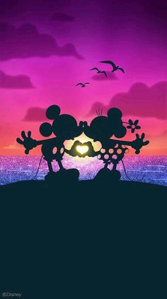 Mickey love Minnie ^_^