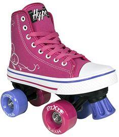 50f4cf599b4f Hype Pixie Kids Roller Skates for Kids Children – Girls and Boys – Kids  Rollerskates – Childrens Quad Derby Roller Skate for Youths Boy Girl – Kids  Skates ...
