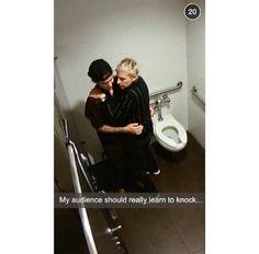 Justin Bieber: I always enjoy myself with Ellen ;) jk. She's hilarious though !! (via fahlo)