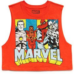 FOREVER 21 Marvel Comics Muscle Tee and other apparel, accessories and trends. Browse and shop 13 related looks.
