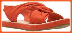 Clarks - Womens Romantic Lilac Sandal, Size: 6.5 B(M) US, Color: Orange Nubuck - Sandals for women (*Amazon Partner-Link)