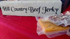 Hill Country Beef Jerky (Meats and Cheeses) Snack Recipes, Snacks, Meat And Cheese, Beef Jerky, Chips, Country, Food, Snack Mix Recipes, Appetizer Recipes