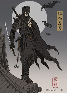 Japanese Batman - TAKUMI™