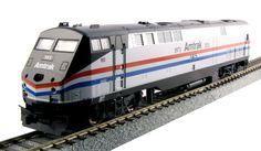 Kato HO 376106-ST GE P42 Genesis, Amtrak Phase III (40th Anniversary Scheme) #145 (Kobo Special With SoundTraxx Tsunmai) | ModelTrainStuff.com