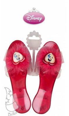 Zapatos de Blancanieves para un disfraz Disney