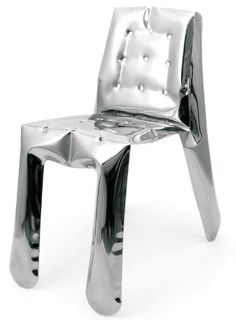 Un design assez gonflé pour cette chaise désigné par zieta. Une chaise qui ne manque pas d'air et qui pourtant est en FIDU La technologie FIDU consiste à souder deux feuilles d'acier u…