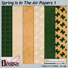 Spring Is In The Air Papers 1