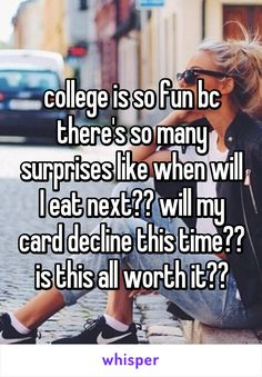 59 Best Funny College Quotes Images Hilarious Haha Student Life