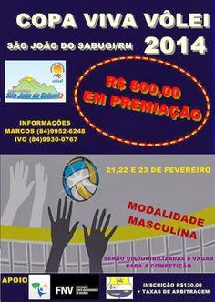 Portal Esporte São José do Sabugi: Seleção de Volei de São José do Sabugi participará...