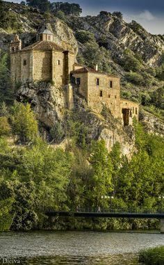 ermita de San Saturio en Soria, Spain