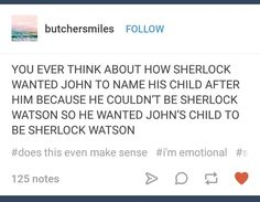 The johnlock insanity has reached my brain... #Sherlock #johnlock #Jawn