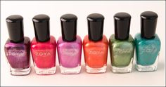 I spy with my little eye...Zoya's Surf Collection for summer!  Can't wait :)